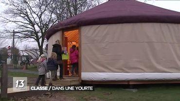 A Faux-les-Tombes, la rentrée scolaire se fera en yourte