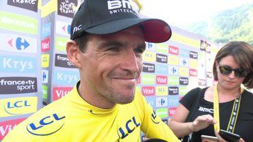 """Van Avermaet, combatif du jour : """"Toujours spécial quand un maillot jaune va dans l'échappée"""""""