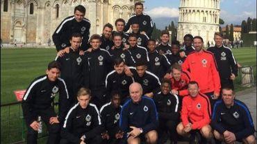 Les espoirs du Club Bruges