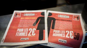 France: le quotidien Libération est plus cher de 50 cents pour les hommes, ce jeudi