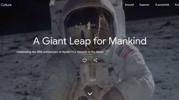 Retour sur la mission Apollo 11 sur Google Arts & Culture
