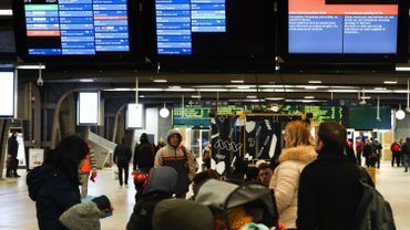 Plus d'un train sur huit en retard d'au moins six minutes en février