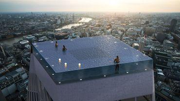 Une piscine à 360° sur le toit d'un building à Londres attendue en 2020
