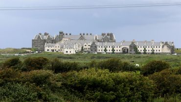 "Le ""Trump International Golf Links & Hotel"", le 4 juin 2019 à Doonbeg, en Irlande"