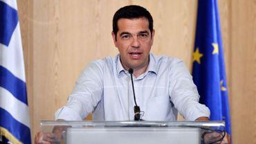 """Tsipras aux Grecs: """"A vous de décider si on a bien représenté le pays"""""""