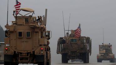 Conflit en Syrie: l'armée américaine procède à un retrait de matériel de Syrie