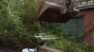 Ensival: la démolition des anciennes usines HDB commence