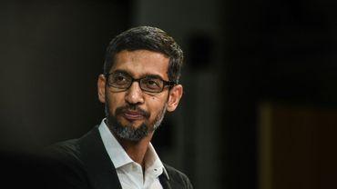 Le PDG de Google, Sundar Pichai, à New York le 1er novembre 2018