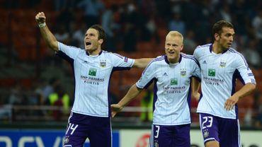 La joie des Anderlechtois