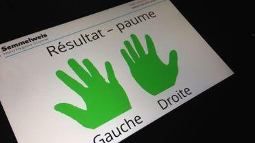 """Campagne hygiène des mains: un scanner """"detecteur de microbes"""""""