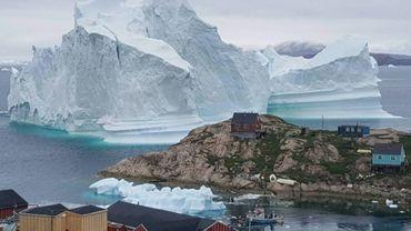 """Le début de la saison de la fonte des glaces au Groenland a été enregistré le 13 mais, soit avec """"près de deux semaines d'avance"""" par rapport à la date médiane issue de 40 ans de données"""