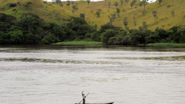 Le fleuve Congo.