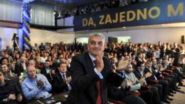 Milo Djukanovic, brigue dimanche la présidence de ce petit pays des Balkans candidat à l'Union européenne.