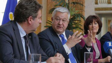 Belga - Présentation de la Déclaration de Politique Générale bruxelloise