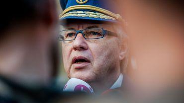 Guido Van Wymersch, chef de corps de la police de Bruxelles.