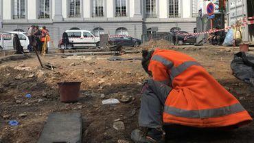 Les fouilles de la Place du Marché à Verviers ouvertes au public les 24 juin et 31 aout