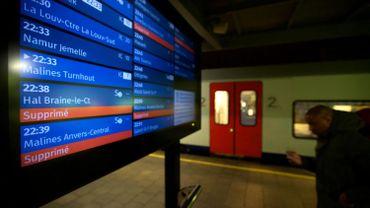La ponctualité de la SNCB ne cesse de baisser, des objectifs revus à la baisse