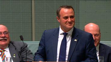 Le parlementaire australien Tim Wilson