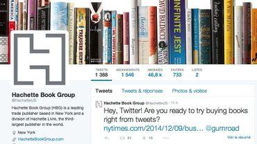 L'expérimentation commence jeudi sur les compte twitter du groupe aux Etats-Unis (photo)