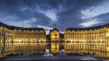 Bordeaux by night (ici la Place de la Bourse)