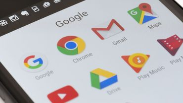 Google apps on Android phone