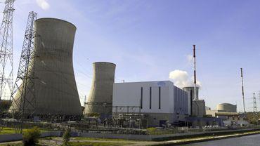 Le réacteur nucléaire Tihange 2 à l'arrêt