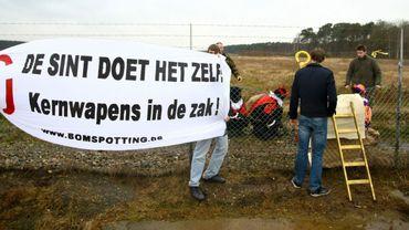 Six Belges sur dix souhaitent le retrait des armes nucléaires de Belgique