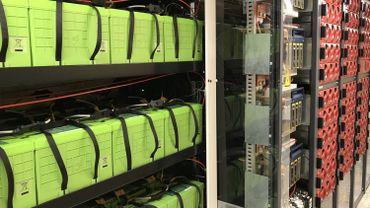 Des batteries et convertisseurs de fortes puissances, mais la plus-value de MeryGrid se voit moins: c'est son intelligence artificielle