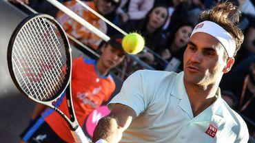 Federer passe en quarts à Rome