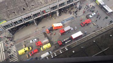 Fausse alerte à l'antrax au bureau Bpost au boulevard Anspach à Bruxelles