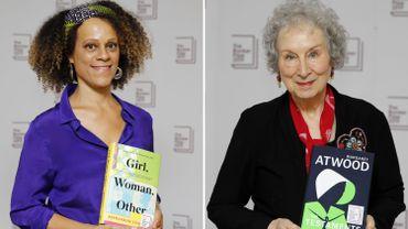 Le Booker Prize, prestigieux prix littéraire britannique, a été attribué lundi soir aux écrivaines canadienne Margaret Atwood et anglo-nigériane Bernardine Evaristo.