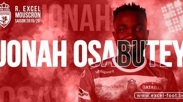 Jonah Osabutey prêté par le Werder Brême à Mouscron
