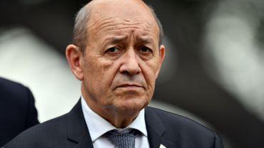 Jean-Yves Le Drian, ministre français de l'Europe et des Affaires étrangères.