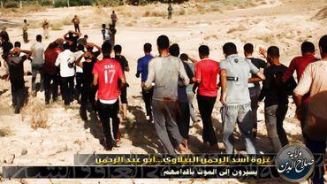 Des images font état d'un massacre de soldats irakiens commis par l'EIIL