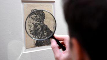 La Bibliothèque royale de Belgique va restaurer 10.000 estampes, dont des Rembrandt