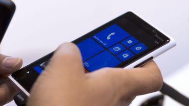 Un smartphone qui tourne sous Windows Phone
