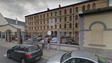 Les locaux de Télé MB, rue des Soeurs Noires à Mons