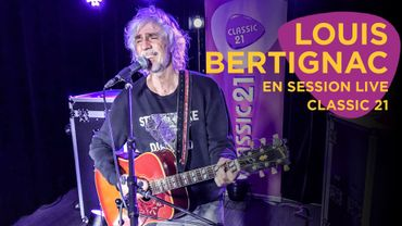 Louis Bertignac en session live et interview