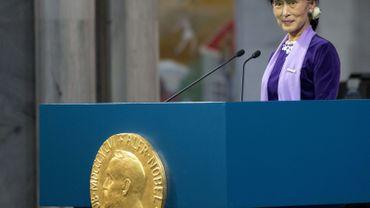À Oslo, Aung San Suu Kyi appelle la Chine à libérer Liu Xiaobo