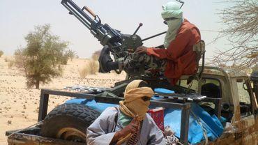 Des rebelles près de la ville de Tombouctou
