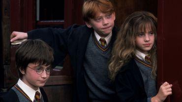 """""""Harry Potter à l'école des sorciers"""" a lancé les carrières de Daniel Radcliffe, Rupert Grint et Emma Watson."""