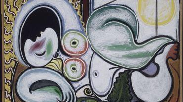 """""""Nu couché"""" de Pablo Picasso, 4 Avril 1932, Boisgeloup, Huile sur toile, Paris, musée national Picasso –Paris."""