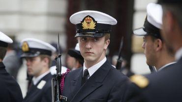 Cénotaphe de Londres: le prince Joachim défile en armes