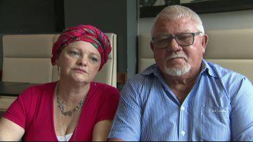 Geneviève Isaac et Claude Masure considèrent que la SNCB et Infrabel sont responsables de l'accident qui a tué leurs proches.
