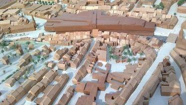 Le projet verviétois de City Mall, c'est un complexe de 28000 m² de commerces.