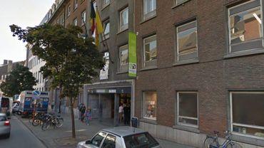 L'université de Namur, en plein centre-ville.