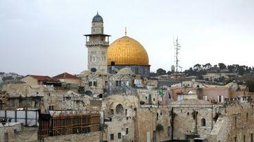 La Mosquée al-Aqsa et le Dôme du Rocher, le 25 octobre 2015 à Jérusalem