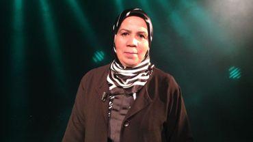 """Latifa Ibn Ziaten sur le plateau de """"Noms de Dieux"""" (RTBF)"""