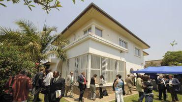 Le consulat de Belgique à Lubumbashi en 2009