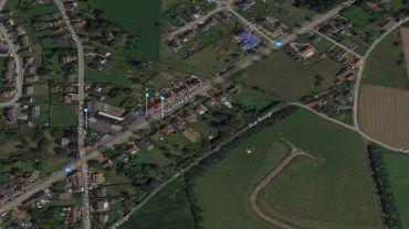 Le projet d'implantation d'un centre commercial se situe le long de la chaussée d'Ath à Enghien